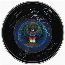 Journey Signed Drum Head