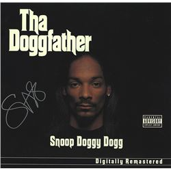 Snoop Dogg Signed The Doggfather Album