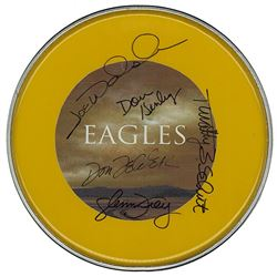 The Eagles Signed Drum Head
