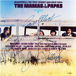 The Mamas And The Papas Signed Farewell to the First Golden Era Album