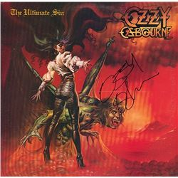 "Ozzy Osbourne ""The Ultimate Sin"" Album"