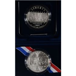 2007 LITTLE ROCK Pf & UNC COMMEM SILVER DOLLARS
