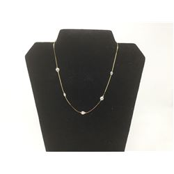 14KTG.P  Freshwater Pearl Necklace