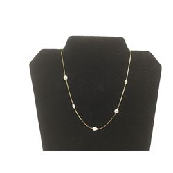14KT G.P  Freshwater Pearl Necklace