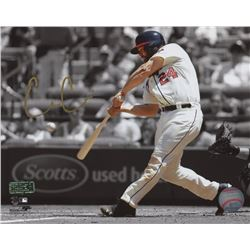 Evan Gattis Signed 8x10 Photo (Radtke COA)