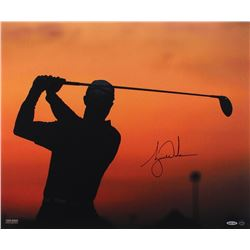 "Tiger Woods Signed ""Sunrise"" 20x24 Photo (UDA COA)"