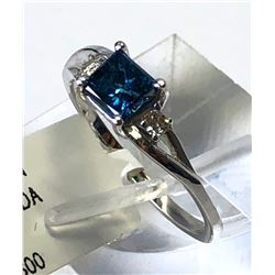 10kt WHITE GOLD TANZANITE (2.00ct) &