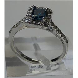14kt. WHITE GOLD DIAMOND (0.56ct)