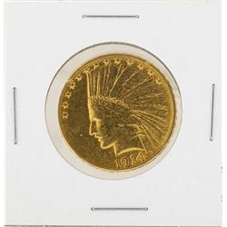 1914-S $10 Indian Head Eagle Gold Coin