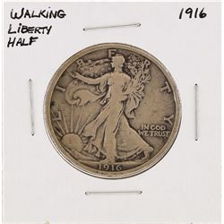 1916 Walking Liberty Half Dollar Silver Coin