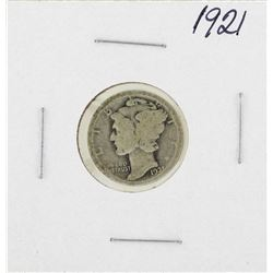 1921 Mercury Dime Coin