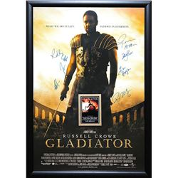 Gladiator Signed Movie Poster