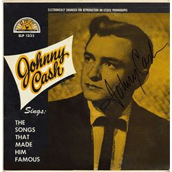Johnny Cash Signed The Songs That Made Him Famous Album