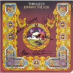 Thin Lizzy Band Signed Johnny The Fox Album