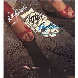 The Kinks Band Signed Low Budget Album