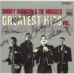 "Smokey Robinson And The Miracles Band Signed ""Greatest Hits Vol. 2"" Album"