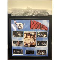 Airplane Signed Film Collage