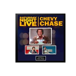 Chevy Chase Signed Weekend Update Collage