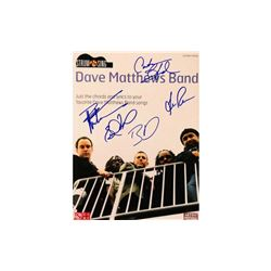Dave Matthews Autographed Music Book
