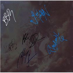 Linkin Park Band Signed The Hunting Party Album