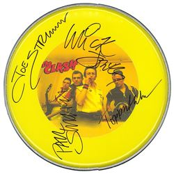 The Clash Signed Drum Head