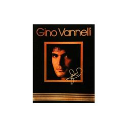 Gino Vannelli Autographed Tour Book
