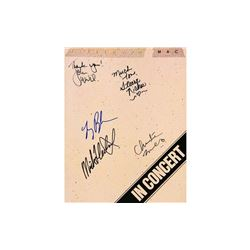 Fleetwood Mac Autographed Tour Book