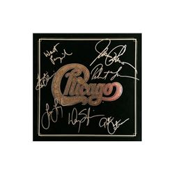 Chicago Autographed Tour Book