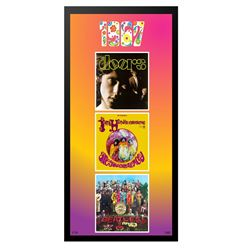 1967 Commemorative 3 Album Collage