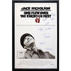One Flew Over the Cuckoo's Nest Signed Movie Poster