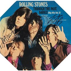 The Rolling Stones Band Signed Through The Past, Darkly (Big Hits Vol.2) Album