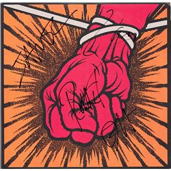 Metallica Signed St. Anger Album