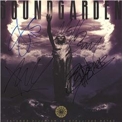 Soundgarden Band Signed Satanos Oscillate My Metallic Sonatas Album