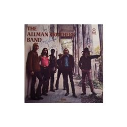 """Allman Brothers """"The Allman Brothers Band"""" Signed Album"""