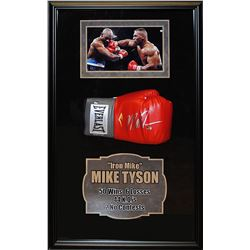 Mike Tyson Signed Boxing Glove