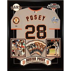 Buster Posey Signed San Francisco Giants Jersey