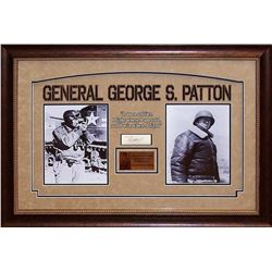General George S. Patton Signed Collage