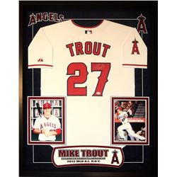 Mike Trout Signed LA Angels Jersey