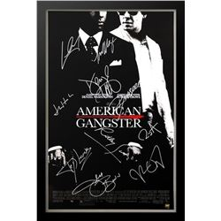 American Gangster - Signed Movie Poster