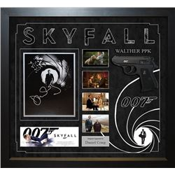 Skyfall Signed Movie Collage
