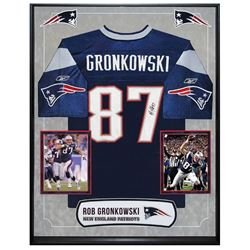 Rob Gronkowski Signed New England Patriots Jersey
