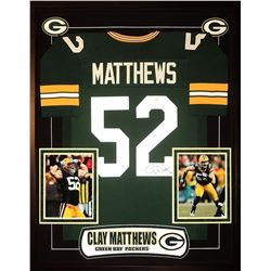 Clay Matthews Signed Green Bay Packers Jersey