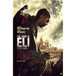 Book of Eli – Signed Movie Poster