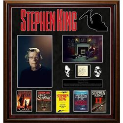 Stephen King Autographed Collage