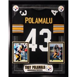 Troy Polamalu Signed Pittsburgh Steelers Jersey