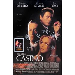 Casino Cast Signed Movie Poster