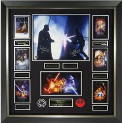 Star Wars Saga Signed Film Collage