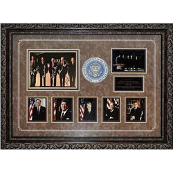 US Presidents Autographed Collage