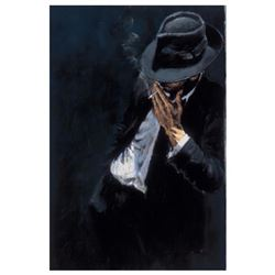 Study For a Man in Black Suit by Perez, Fabian