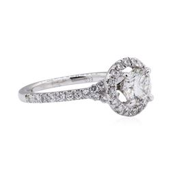 0.67 ctw Diamond Ring - 14KT White Gold